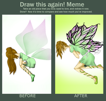 before and after by Junko-Ishi
