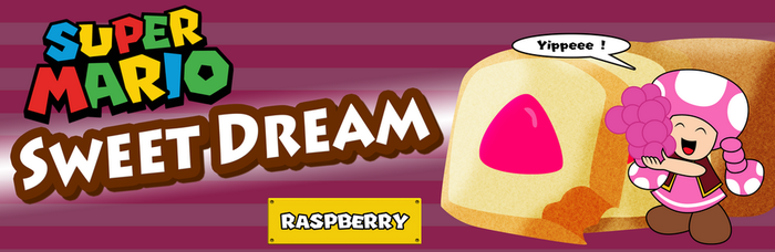 Toadette Sweet Dream Raspberry by ZeFrenchM