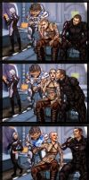 Mass Effect Commision by Jinzali