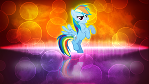 Rainbow Dash Wallpaper by ErsatzNomenclature