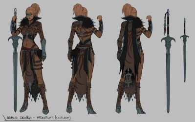 Black Desert Online - Costume Design by SkavenZverov