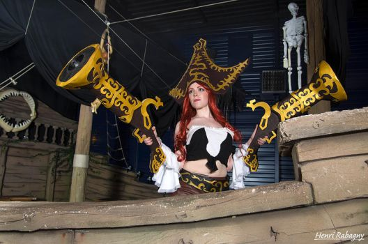 Miss Fortune Cosplay - On Board ! by Galuren