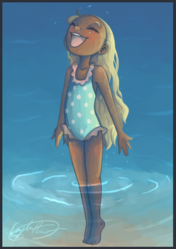 Water Baby by Kaydreamer