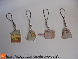 Pusheen cat landyard by Vavercraft