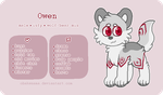 Owen - Reference Sheet by obakesama