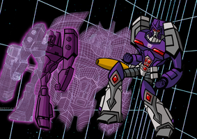 Behold...Galvatron by Berty-J-A