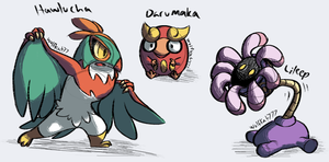 Pokemon [Random Generator] Drawings #1