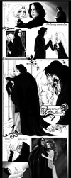 Severus Snape and Emily Brown by RedPassion