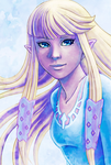 Zelda Skyward Sword by Serah-Farron