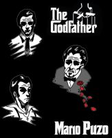 The Godfather - Book Cover by aratithiliel