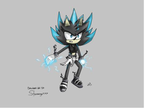 Super Storm The Hedgehog by Storming777