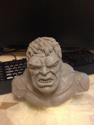The Hulk (WIP) by Daryl-Muncaster