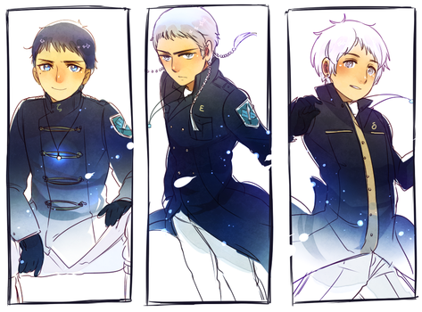Orion's Belt by Cioccolatodorima