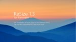 ReSize 1.3 for Rainmeter by DrakenMusic