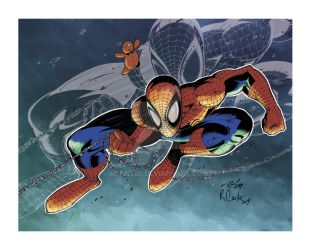 Spider-man by RCarter
