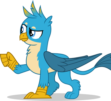 Gallus fist bump by FrownFactory