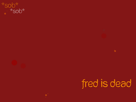 Fred Wallpaper SPOILERS by lost-her-marbles