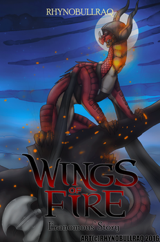 Wings of Fire Eranomous' Story Cover by RhynoBullraq
