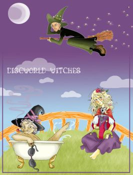 Discworld Witches by WTE