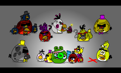 Five Nights at Terence's 4 by AngryBirdsStuff