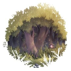 hideaway (GIF animation) by Iraville