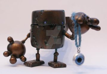 Steampunk Reliquary Robot by SpaceCowSmith
