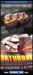 Download Free Party Flyer Design Template by MGraphicDesign