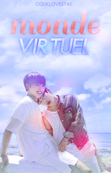 Monde Virtuel Wattpad Cover by MeridaErva