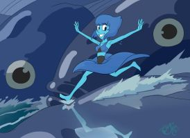 Running on the waves by tangoblackcat
