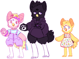 furby family by flvffy