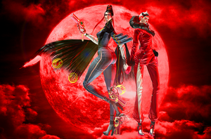 BAYONETTA: Red and Black by PhilipMessina