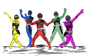 Power Rangers Comsic Force by RFyle119