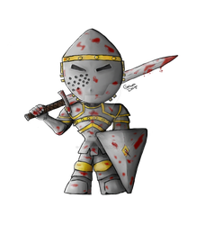 mini Knight by Gothika1988