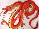 Japanese dragon by Hestia737