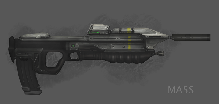 MA5S Assault Rifle by TDSpiral