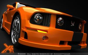 Ford Mustang GT_FinalVersion by ahmadiftikhar