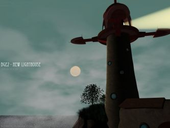 New Lighthouse 3D by DJDiX by bgeclub