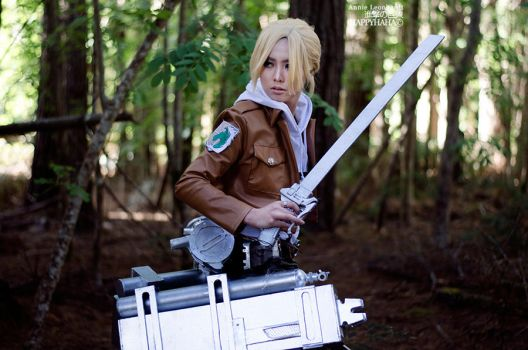 Annie Leonhardt [1] by HAPPYHAHA