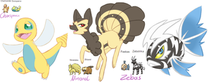 Pokemon Fusion auction -closed- by Mondlichtkatze