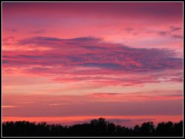 Banded Twilight by bdusen