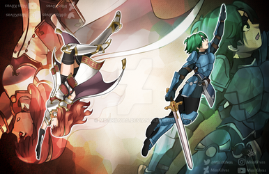 SpeedArt: Alm and Celica (with video!) by MissKilvas