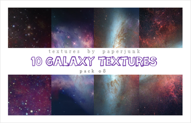 Textures Pack 09: Galaxy by PaperJunk