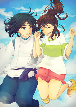 spirited away by pepaaminto