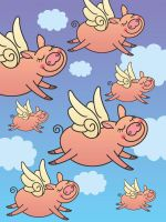 When Pigs Fly by Nyrak
