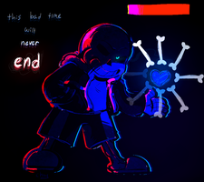 Bad Time | Undertale by Ousul