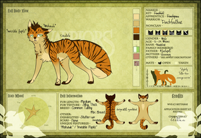 -WVS- Finchfeather Application, Willowclan Warrior by Allizia