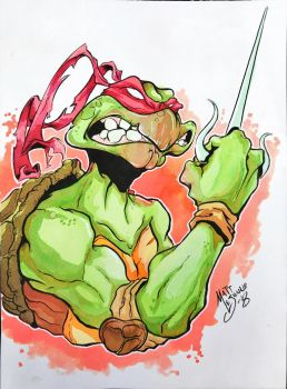 Turtle Power  by Matt-Lejeune-Art