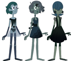 Black Pearl Point Adopts (1/3 OPEN) by VikingEggs