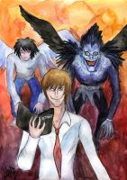 Death note by Le-ARi