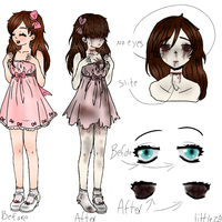 [CPP] Oc Ref by Little-ZA